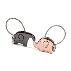 Save Elephant Love Keychain - Ashley Jewels - 1