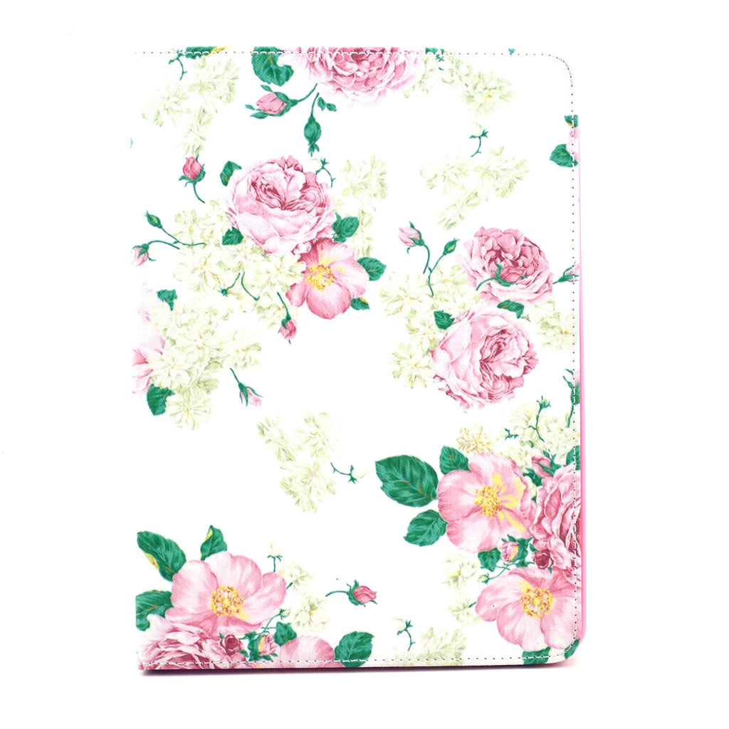 Pink Flower Leather Case for iPad Air2 - BoardwalkBuy - 1