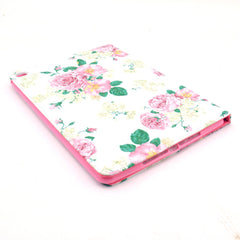 Pink Flower Leather Case for iPad Air2 - BoardwalkBuy - 3