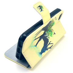 Reindeer Stand Leather Case For iPhone 5s - BoardwalkBuy - 2