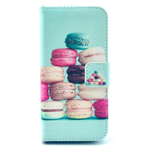 Cake Stand Leather Case For iPhone 5s