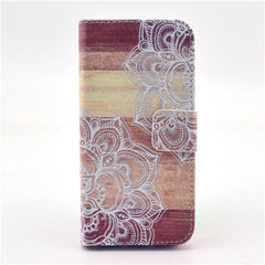 Lace Stand Leather Case For iPhone 5s - BoardwalkBuy - 1