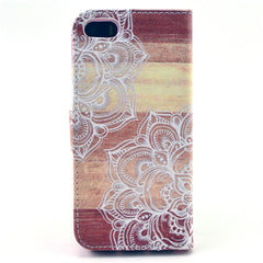 Lace Stand Leather Case For iPhone 5s - BoardwalkBuy - 3
