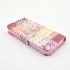Lace Stand Leather Case For iPhone 5s - BoardwalkBuy - 4