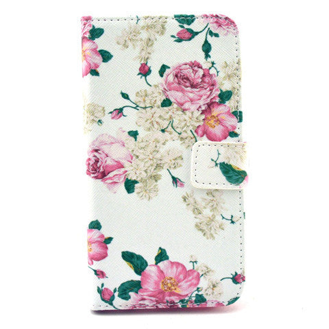 PU Stand Leather Case for Samsung S6 - BoardwalkBuy - 1
