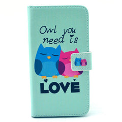 Love  PU Stand  Leather Case for Samsung S6 - BoardwalkBuy - 1