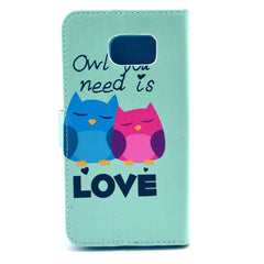 Love  PU Stand  Leather Case for Samsung S6 - BoardwalkBuy - 3