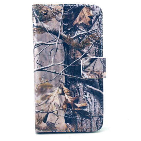 Tree  PU Stand  Leather Case for Samsung S6 - BoardwalkBuy - 1