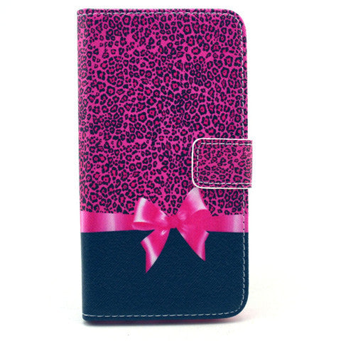 Bowknot Stand Leather Case  For  Samsung S6 - BoardwalkBuy - 1