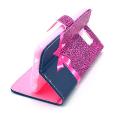 Bowknot Stand Leather Case  For  Samsung S6 - BoardwalkBuy - 2