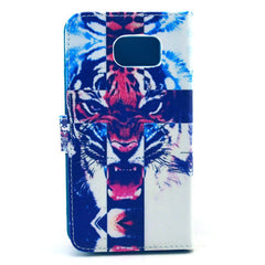 Tiger Stand Leather Case  For  Samsung S6 - BoardwalkBuy - 5