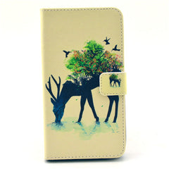 Reindeer Stand Leather Case For Samsung note3 - BoardwalkBuy - 1