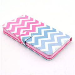 Pink waves Stand Leather Case For Samsung note3 - BoardwalkBuy - 4