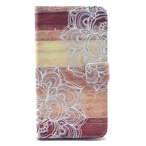 Lace Stand Leather Case For Samsung note3 - BoardwalkBuy - 1