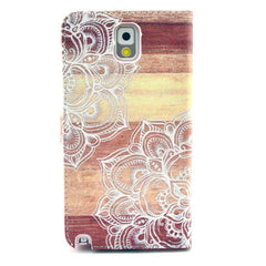 Lace Stand Leather Case For Samsung note3 - BoardwalkBuy - 3