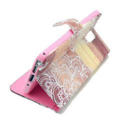 Lace Stand Leather Case For Samsung note3 - BoardwalkBuy - 2