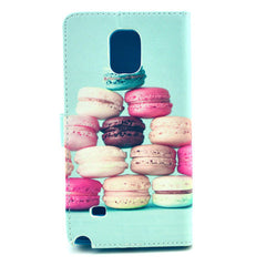 Cake Stand Leather Case For Samsung note4 - BoardwalkBuy - 3