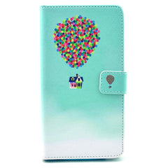 The balloon house Stand Leather Case For Samsung note4 - BoardwalkBuy - 1
