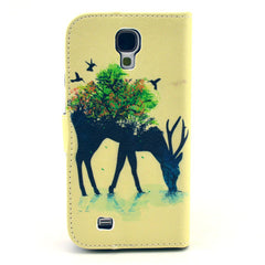 Reindeer Stand Leather Case For Samsung S4 - BoardwalkBuy - 3