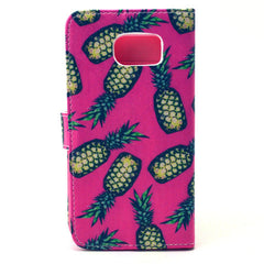 Pineapple Stand Leather Case  For  Samsung S6 - BoardwalkBuy - 4