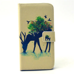 Reindeer Stand Leather Case  For  Samsung S6 - BoardwalkBuy - 1
