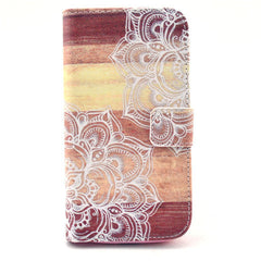 Lace Stand Leather Case For Samsung S4 - BoardwalkBuy - 1
