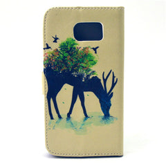 Reindeer Stand Leather Case  For  Samsung S6 - BoardwalkBuy - 4