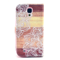 Lace Stand Leather Case For Samsung S4 - BoardwalkBuy - 3