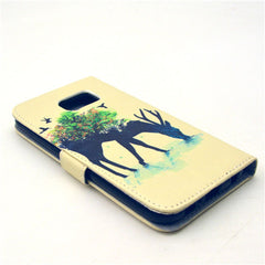 Reindeer Stand Leather Case  For  Samsung S6 - BoardwalkBuy - 3