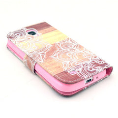 Lace Stand Leather Case For Samsung S4 - BoardwalkBuy - 4