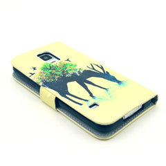 Reindeer Stand Leather Case For Samsung S5 - BoardwalkBuy - 4