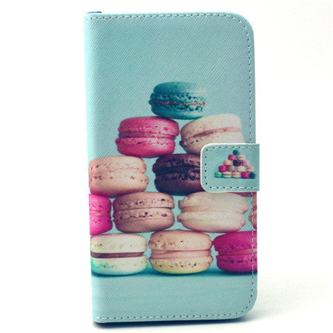 Cake Stand Leather Case For Samsung S6