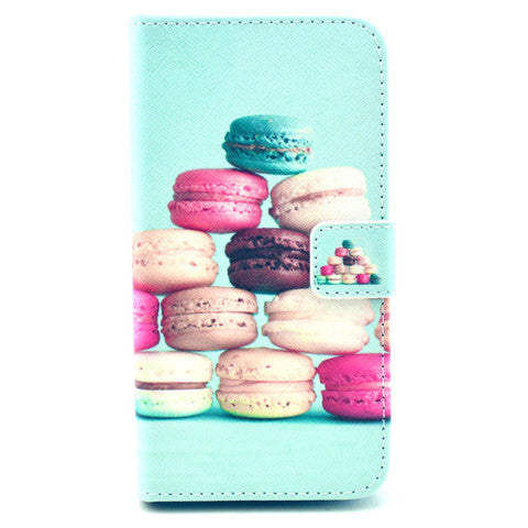 Cake Stand Leather Case For Samsung S5