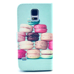 Cake Stand Leather Case For Samsung S5 - BoardwalkBuy - 3