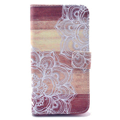 Lace Stand Leather Case For Samsung S5 - BoardwalkBuy - 1