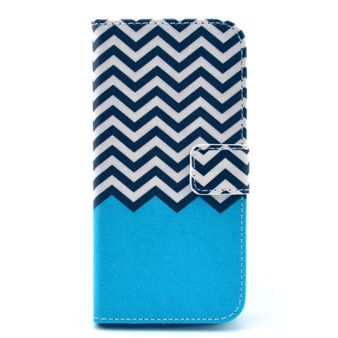 Wave Leather Case For Iphone 6 4.7