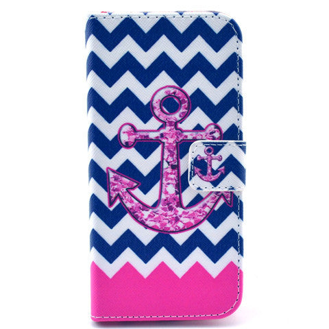 "Painted Leather Case for iPhone 6 4.7"" - BoardwalkBuy - 1"