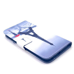 Tower Girl Stand Leather Case For Samsung S6 Edge - BoardwalkBuy - 2
