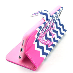 Wallet Style Leather Case for iPhone 6 Plus - BoardwalkBuy - 3