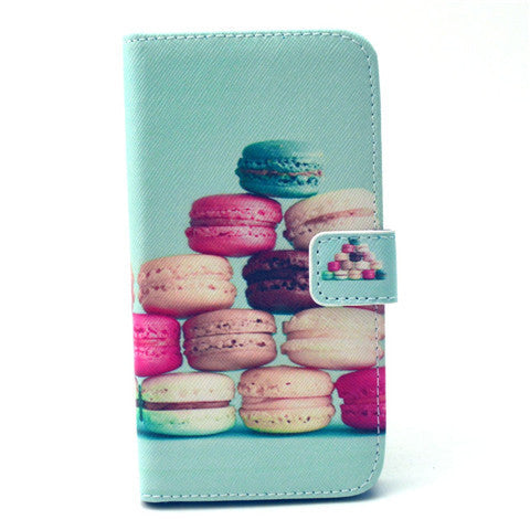 Cake Stand Leather Case For Samsung S6 Edge
