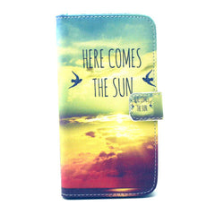 Sunrise Stand Leather Case For Samsung S6 Edge - BoardwalkBuy - 1