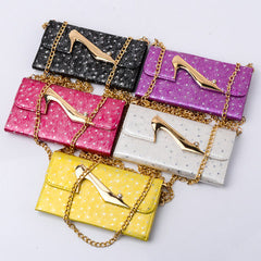 Heeled shoes wallets for Samsung Galaxy Note4 - BoardwalkBuy - 1