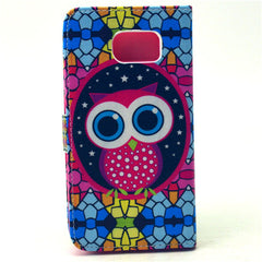 Masonry Owl Stand Leather Case For Samsung S6 - BoardwalkBuy - 4
