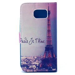 Signature T ower Stand Leather Case For Samsung S6 - BoardwalkBuy - 4