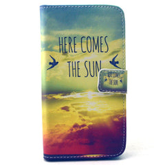 Sunrise Stand Leather Case For Samsung S6 - BoardwalkBuy - 1
