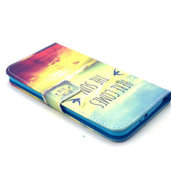 Sunrise Stand Leather Case For Samsung S6 - BoardwalkBuy - 3