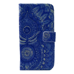 Sunflower Stand Leather Case For Samsung S6 - BoardwalkBuy - 1