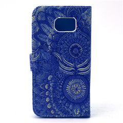 Sunflower Stand Leather Case For Samsung S6 - BoardwalkBuy - 4