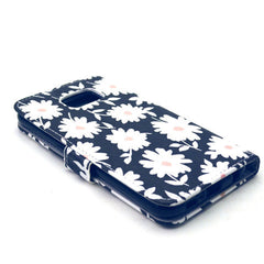 Chrysanthemum Stand Leather Case For Samsung S6 - BoardwalkBuy - 3