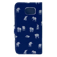 Indian Elephant Stand Leather Case For Samsung S6 - BoardwalkBuy - 4